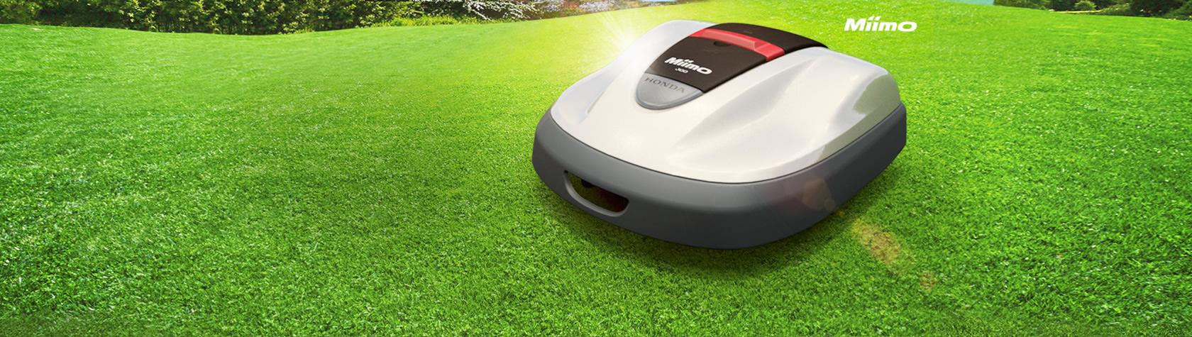 Kampanj på Hondas robotgräsklippare Miimo