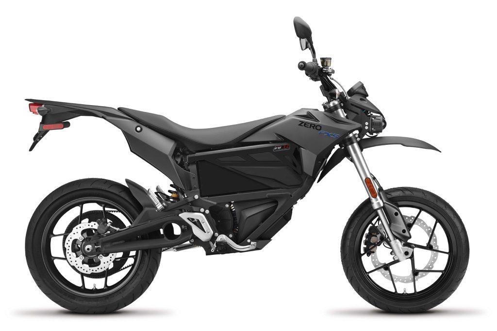 Zero FXS – den eldrivna supermotard-motorcykeln för ljudlöst bus på asfalt.