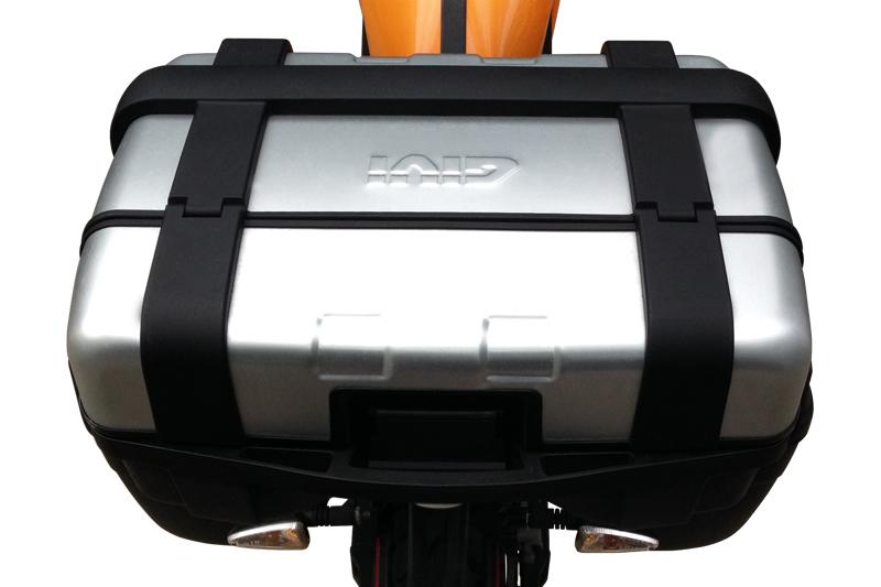 Pakethållarkit med toppbox i aluminium - Givi Trekker - 5 295 kr