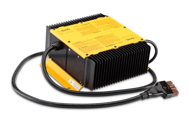 Quick Charger, 1 kW snabbladdare - 8695 kr. Kan användas parallellt med den inbyggda laddaren och totalt upp till fyra samtidiga snabbladdare.