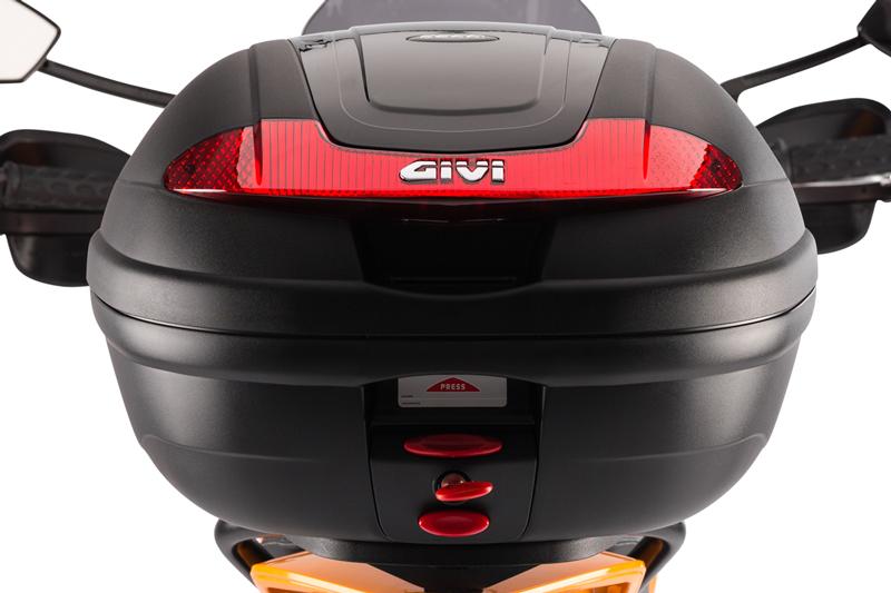 Pakethållarkit med toppbox Givi 34 l - 3 895 kr
