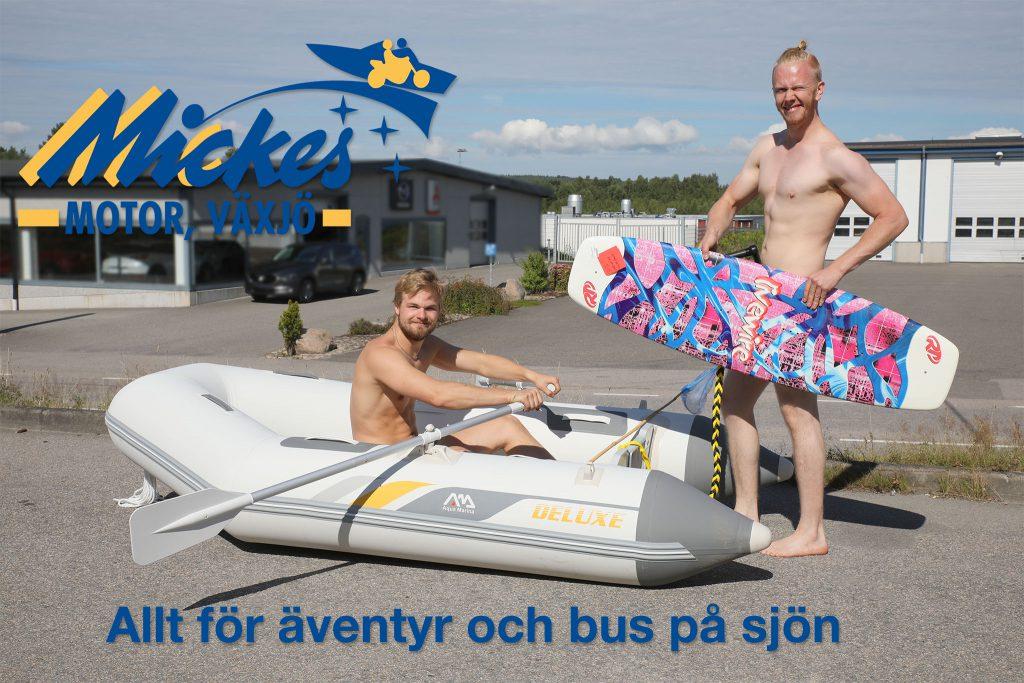 Hos Mickes Motor hittar du allt för sommarens nöjen till sjöss!