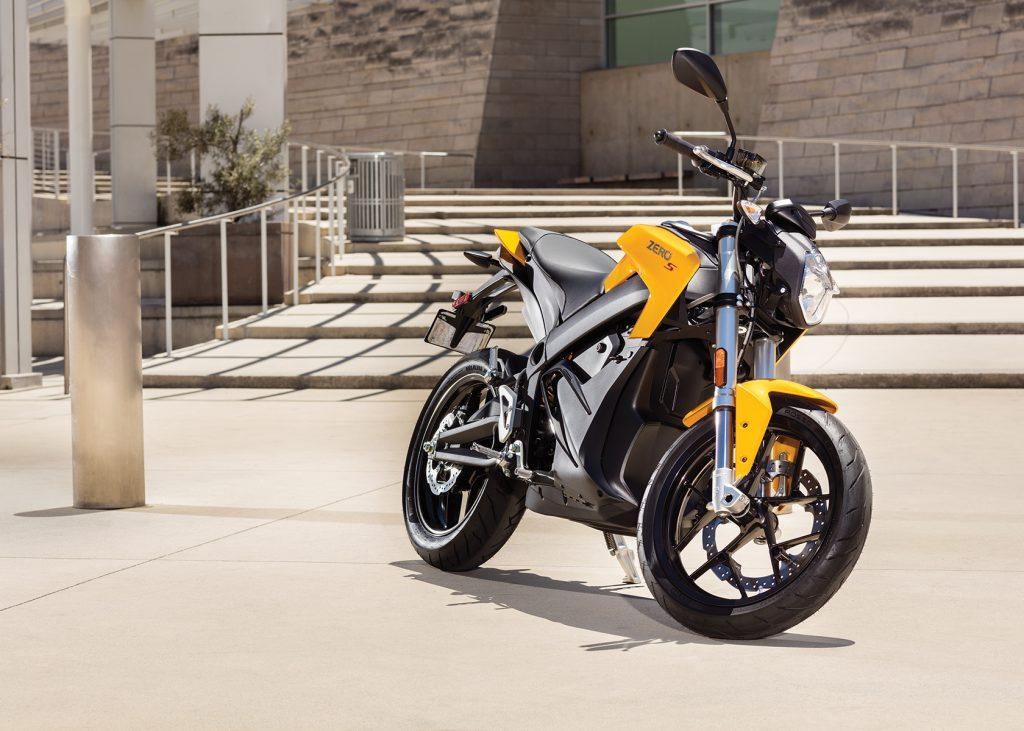 Ny Zero S ZF 13, 2017 års modell, gul, ordinarie pris: 169 900 kr, oktoberpris: 156 900 kr!