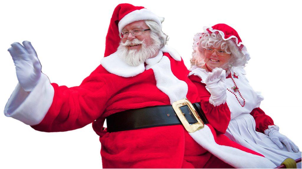 Nej, inga fler renar. Tomten handlar också (h)julklappar på Mickes Motor!