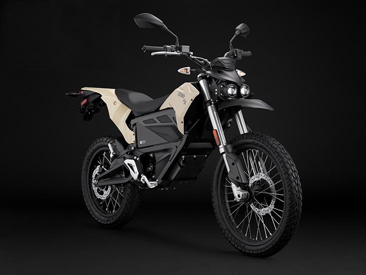 Zero FX är den gatregistrerade offroad-versionen av Zeros elmotorcyklar som funkar lika bra i terräng som i trafik.