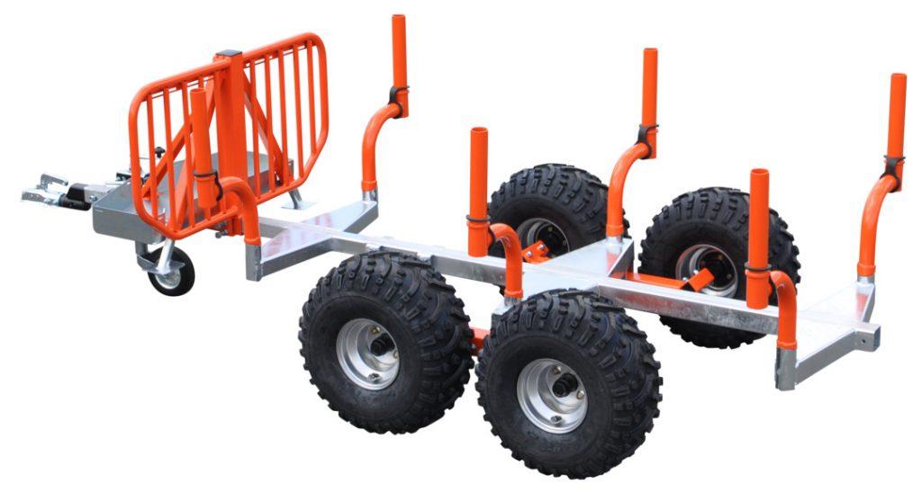 Pro-Terra TerraLog TL1600 är en 1 600 kg sexstakars skogsvagn.