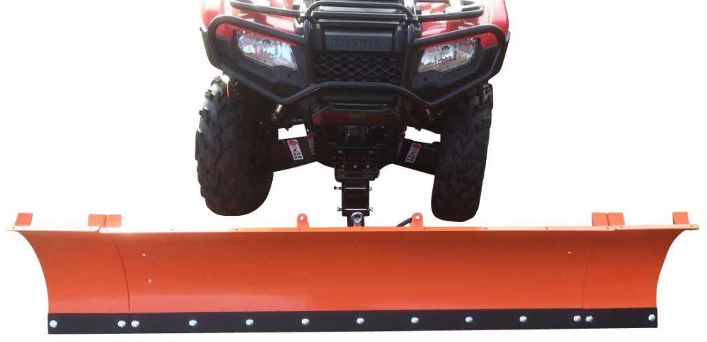 Pro-Terra Snöplog är en 150 cm bred, balkmonterad snöplog för ATV som passar alla märken och modeller.