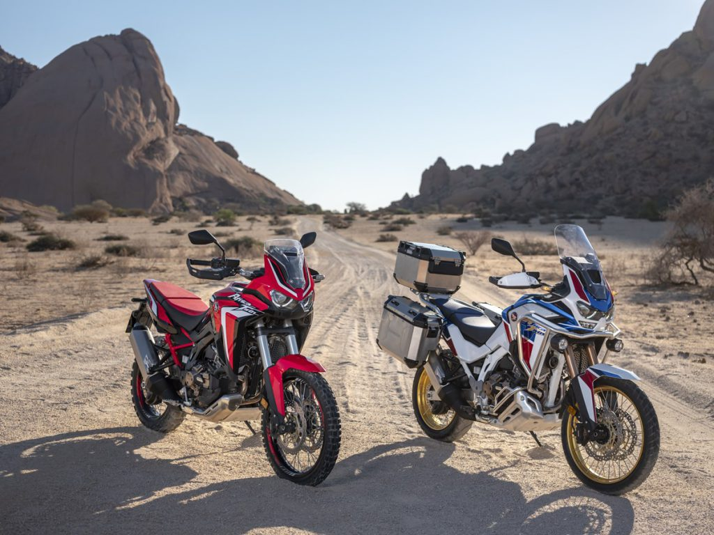 2020 års Africa Twin och Africa Twin Adventure Sports
