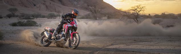Nu är den här – Hondas nya Africa Twin 2020