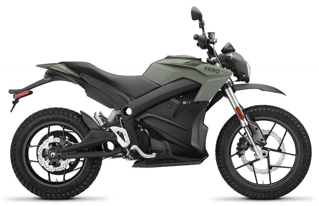 Zero DS ZF14.4 2021 – den mångsidiga äventyrsmodellen som även finns i flera utföranden med olika batteristorlekar och effekter.