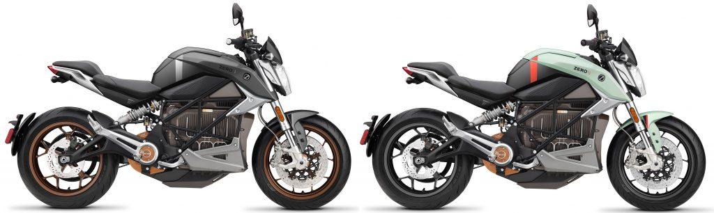 Zero SR/F ZF14.4 finns i grått och mintblå som 2021 års modell.
