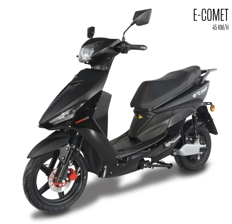 MotoCR e-Comet – multifunktionell elmoped