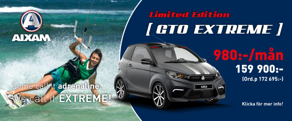 Aixam GTO EXTREME Limited Edition