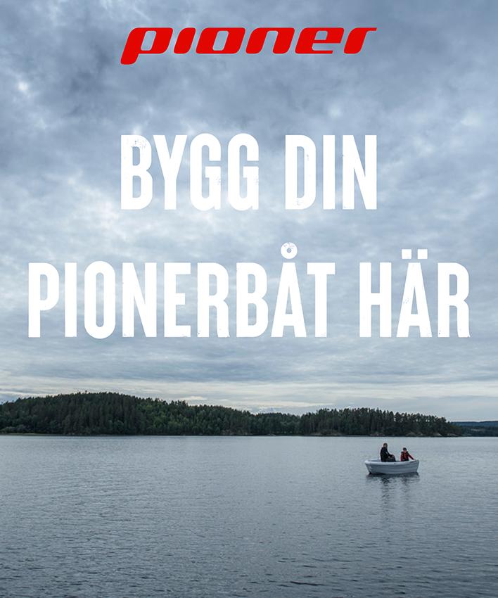 Bygg din Pionerbåt här
